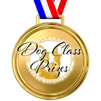 Dog Class Prizes Sponsorship for store.