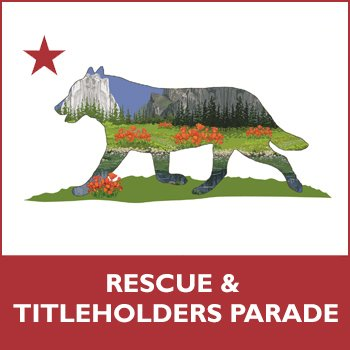 Rescue Titleholders Parade for shop